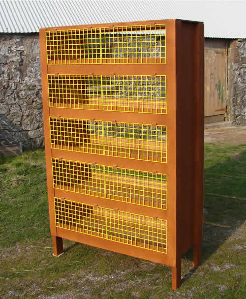 Quail CagesMy latest design quail cage  This one is a tier cage